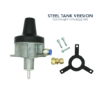 Tank Top Off Take Valve Steel Tank With Rigid Pipe